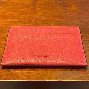Coach Slim Card Case Wallet